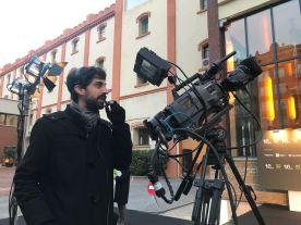 Operador de càmera en realitzacions en directe, Plató Obert, 2018